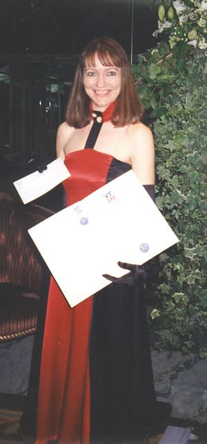 Helen Knox - as Finalist in 3m Nursing Times Awards, 1994